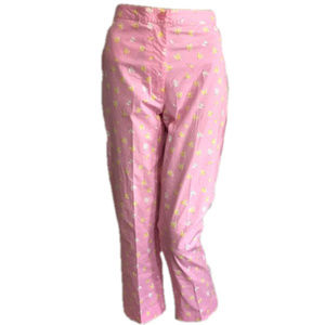 LILLY PULITZER Firefly Crop Pants Pink 2